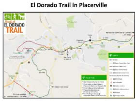 Printable map for trail in Placerville